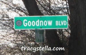 Goodnow Blvd Sign_Captioned