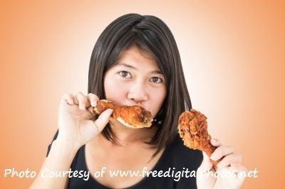 Liposuction - Girl Chicken (Photo Credit freedigitalphotos.net) ID-100106142 CAPTIONED