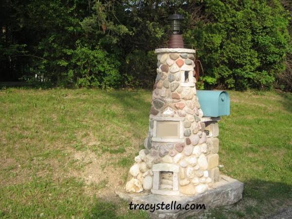 Stone Lighthouse CAPTIONED