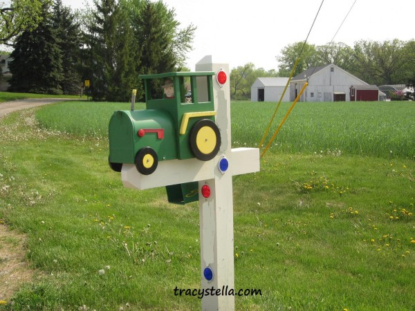 tractor CAPTIONED