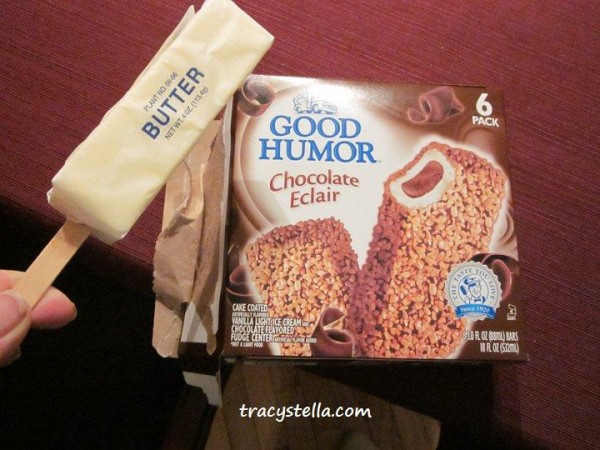 butter on stick - good humor CAPTIONED