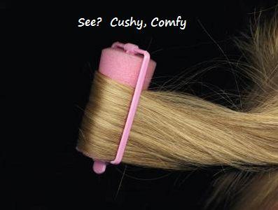 pink foam roller CAPTIONED