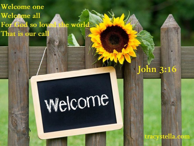 Welcome with poem 17982167_m