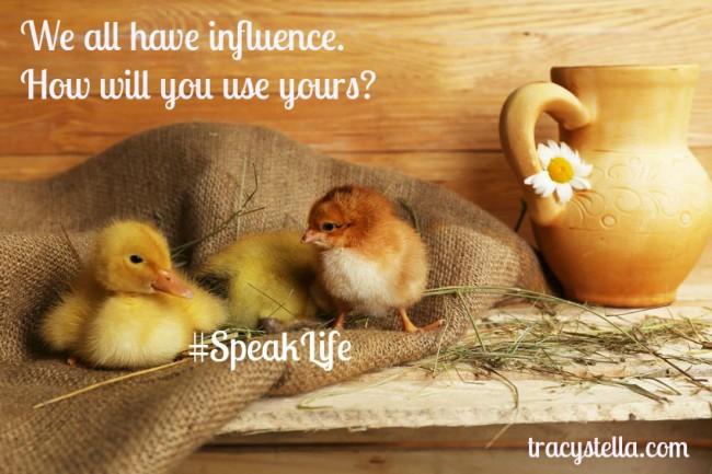 Speak Life #29399094_m purch 123rf.com modified
