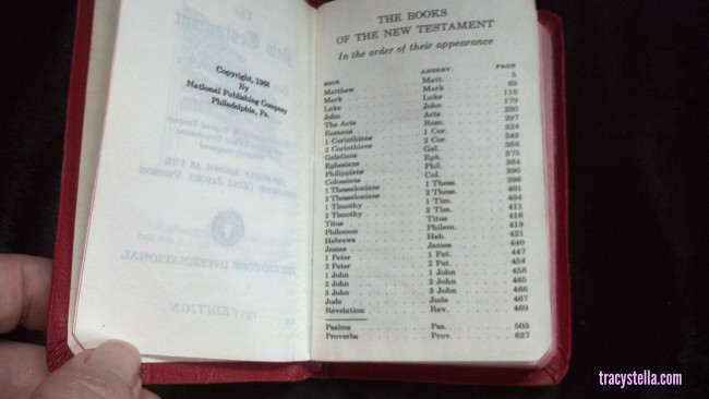 New Testament Bible MODIFIED