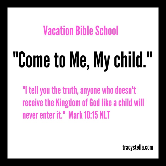 Vacation Bible School Sign