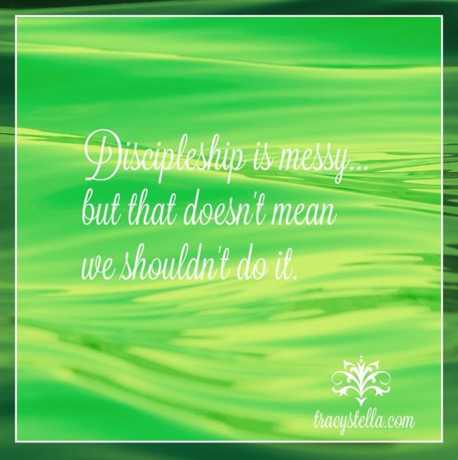 Discipleship is Messy Option 2 Meme